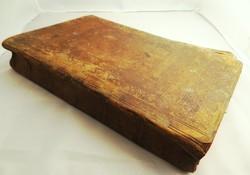 Kézzel irott könyv 1764