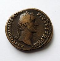 Antonius Pius sestertius. - COS IIII S-C