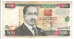 500 shilingi 2000 Kenya