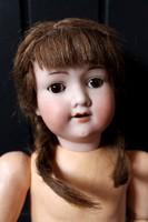 Régi Armand Marseille baba, 43 cm, hajlítható végtagokkal