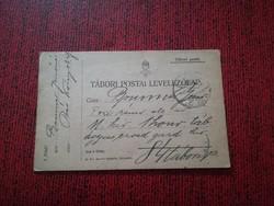 1916-os tábori levelezőlap 84-es tábor