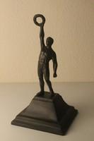 Art Deco sportoló szobor