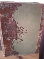 Az Univerzum és az emberiség - Weltall und Menschheit I-V.(Gótbetűs)1900  - antik könyv,lexikon