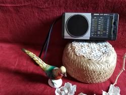 Retro rádió Orosz táskarádió