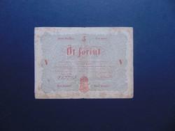 5 forint 1848 Kossuth bankó !
