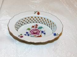 Herendi Nanking áttört szélű  porcelán tálka gyürűtartó