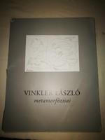Vinkler László metamorfózisai  Papír mappa, 24 grafika reprodukciójával