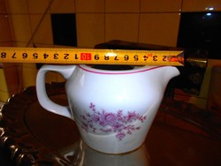 Hollóházi porcelán kávés kiöntő