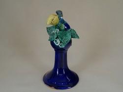 0W519 Morvay Zsuzsa művészi kerámia madár 20.5 cm