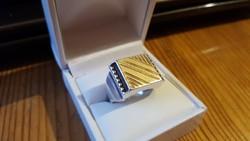 Ffi ezüst pecsétgyűrű