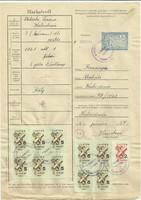 1961.-Marhalevél
