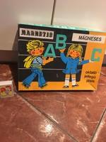 Antik Mágneses ABC betűkirakó játék - Oktató játék Magnetic - Triál