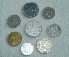 8 db - Vegyes pénzérme