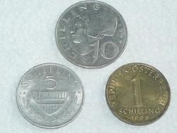 3 db - Schilling - Ausztria