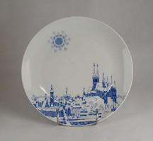0W623 Meisseni porcelán falitányér dísztányér