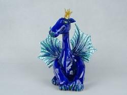 0W522 Morvay Zsuzsa művészi kerámia sárkány