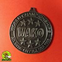 WAKO Érme Kick-Box USA 1998 Sport Emlékérme
