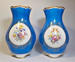Ilmenau  virágos porcelán vára párban