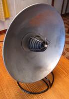 Retro loft parabola tányéros hősugárzó, 900 W, Szarvasi Vas és Fémművek
