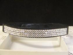 Syam Silver 4 soros Swarovski kristályos nyakpánt