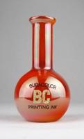 0W762 Retro BUDACOLOR kerámia váza 13.5 cm