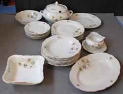 Colditz 25 részes porcelán étkészlet
