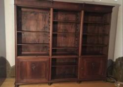 Bécsi barokk könyvesszekrény