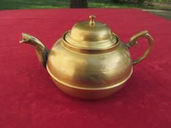Réz teáskanna (18 x 11 cm)