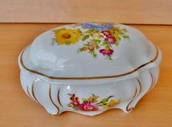 Szép régi német porcelán bonbonier jelzett