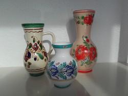 Jelölt kerámia vázák.
