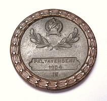 Kerékpár pályaverseny 1954.IV.díj,