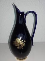 Hollóházi kiöntő, váza 20,5 cm.