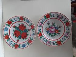 Józsa János Korondi tányér, falitányér 2 db.