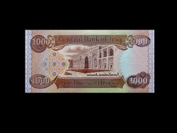UNC - 1000 DINÁR - IRAK - 2013