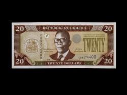 UNC - 20 DOLLÁR - LIBÉRIA - 2006