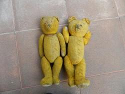 Antik maci - mackó pár