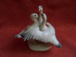 Royal Doux porcelán vadlibák figura