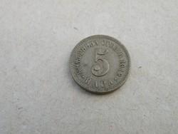 KK315 Szerbia 1912 5 para