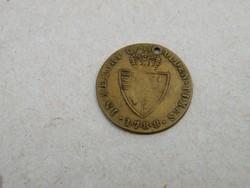 KK322 régi réz token angol III. György 1788