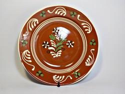 Mezőcsáti kerámia tányér , falitányér