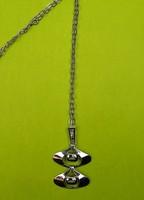 Niels Petersen ezüst nyaklánc