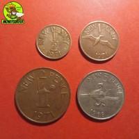 Guernsey 4db penny érme 1968-71 NSZ