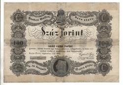 100 Száz forint 1848 Kossuth bankó 5.