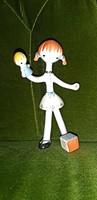 Extrém ritkaság Különleges Aquincum lány figura