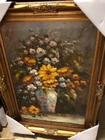 90x60 Virág csendélet festmény