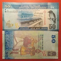 Srí Lanka 50 rúpia 2016 UNC