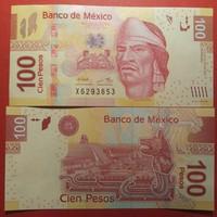 Mexikó 100 pesos 2009 UNC