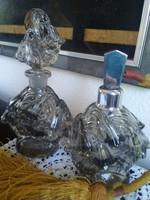 Nagyon régi elegáns, harangvirágos parfüm szóró készlet!