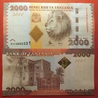 Tanzánia 2000 schilling 2011 UNC