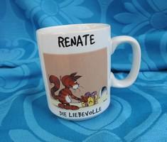Renate - kedves ajándékbögre